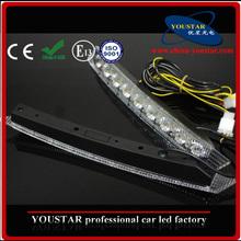 12V 17w white led daylight running lights for cars