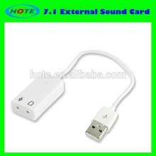 USB 7.1 External Sound card support win7 XP
