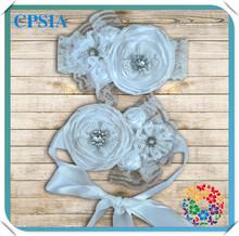 Fashion Fascinator Hair Accessory Headband & Sash Set Baby Flower Making Headband Chinese Hair Accessories