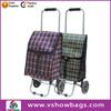 food bag nice portable folding shopping trolley bag with wheels portable shopping trolley