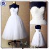 JJ3549 Tulle Skirt short cream wedding dresses With Jackt short country wedding dresses