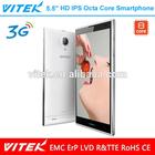 Slim Dual SIM 5.5'' Octa Core 3G Mobile Phone