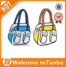 2014 cartoon bag Guangzhou manufacturer new products cartoon 3D bags