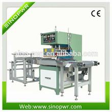 High frequency plastic card sleeve making machine