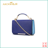 GF-A36 Fashion girls shoulder bag with navy leather