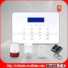English\ German\ French language vasion home safe gsm alarm for home office shop etc.
