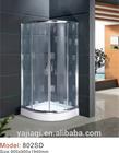 aluminum toughened glass shower standard european shower toilet cubicle