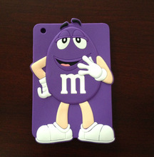 soft M & Ms cover skin protector case for ipad