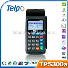 China hot sale TPS300 wifi thermal print smart card reader gsm wireless gprs 3g rugged pda & eft pos machine printer
