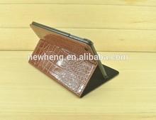 new book design stand dormancy leather case for ipad mini