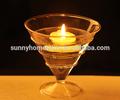 Feitas à mão clara de cristal castiçais de mesa de casamento decorações/esfera de vidro pendurado/decorativo pendurado bolas de vidro