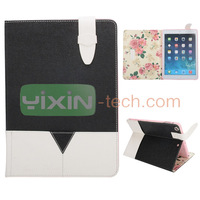 Cheap Double-color Design Foldable Stand For iPad Air 5 Leather Case