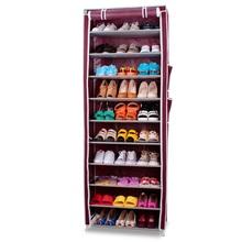 SW Wardrobe Closet Storage Organizer 10 lays folding shoe racks for shops shoe rack simple electric shoe racks
