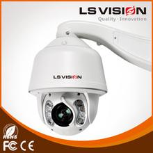 LS VISION outdoor ptz dome camera ip remote control hd ptz megapixel camera with zoom robot ptz camera