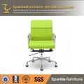 moderna de couro eames cadeira de escritório projetos uniforme para as mulheres