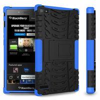 Combo Heavy Duty Shockproof Kickstand Case For Blackberry z3