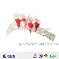 Hot Sale!!!Factory Manufacturing Custom Acrylic Ice Cream Cupcake Holder
