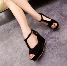 2014 the new Wedge heel women's sandals