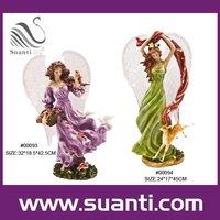 Custom porcelain fairy figurines