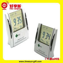 Factory directly supply digital lcd alarm world clock