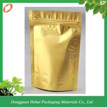 Plastic zip lock laminated aluminum foil packaging pouch