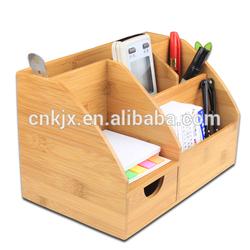 2014 Hot Sale Bamboo Desktop Organizers
