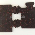 soft rubber mat inter lock design