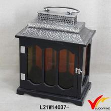 make wood new design christmas decorative lantern indoor