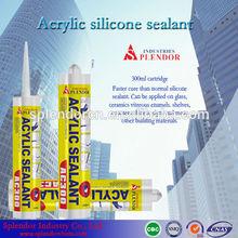 acetic silicone sealant/ acrylic-based silicone sealant supplier/ cement pipe silicone sealant