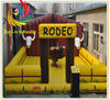 funny luxury inflatable bull, inflatable bull riding machine, inflatable mechanical bull riding