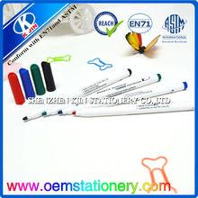 14.5cm *0.7cm red/green /blue /black 4color customized water erasable marker pen