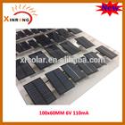 100x60MM 6V 100mA Mini Epoxy Solar Panel