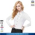 sueltas de alta calidad de las mujeres blusa camisa modelo