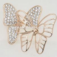 butterfly broach pin