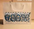 Impresos personalizados de papel bolso de compras& brown bolsas de papel kraft con el mango de china alibaba