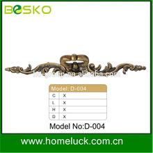 Decorative classical handle antique brass pulls factory