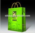 Laminado bolsa de papel transportista, de papel bolso de compras, de papel de regalo la bolsa china alibaba