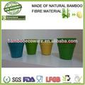 bambou biodégradables pot de fleur de fibres végétales