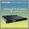 Dmb-9700 alta calidad digital de frecuencia scrambler de apoyo 4 diferentes simulcrypt CAS