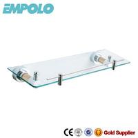Luxury Furniture Glass Shelf Support Brackets Set Top Box Glass Shelf 919 07