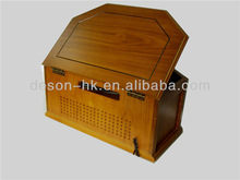DS-168 Classic wooden CD turntable record player for local tyrant enjoy