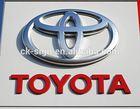 Outdoor advertising toyota car emblem badges/car badges emblem/car emblem logos