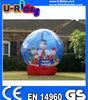 snow globe inflatable inflatable christmas snowman