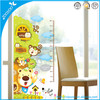 3D Removable pvc wall sticker/wall decal Cartoon growth measure chart