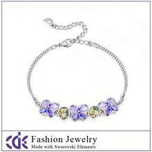 fashion crystal fashion radium bracelets