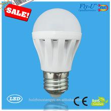Alibaba china supplier hong kong 7w led bulb E27/B22d white sharp led bulb light qualified 220V/12V