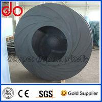 Sand slurry pump rubber liner impeller