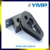 Custom cnc machining service factory aluminum folding machine spare parts