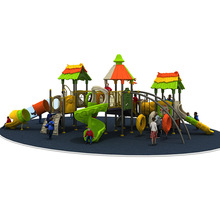 CE EN1176 standard green-forest style kindergarten outdoor toys with 12 optinal sizes