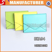 Candy Color Lady Leather Wallet Fashion New Model 2014